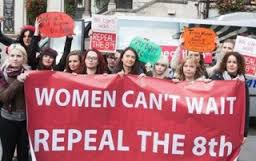 women cant wait - repeal 8